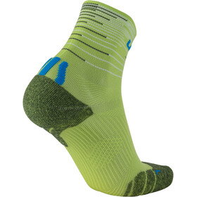 UYN Free Run Chaussettes Doublepack Homme, black/red-green lime/french blue